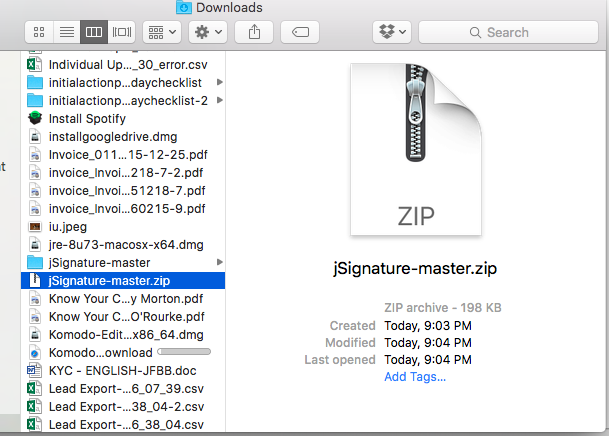 ZIP File Upload